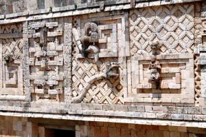 Serpent facade, Uxmal