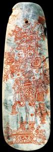Jade pendant - Tikal