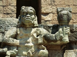 The Monkey deity, Copan