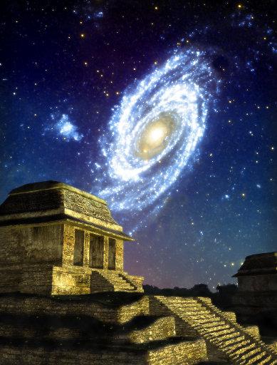 Happy New Tzolkin Mayan Calendar Cycle at Palenque, Mayaland