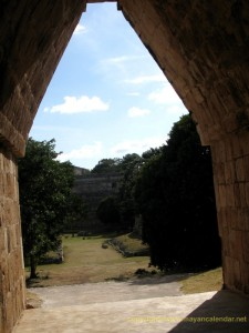 Corbeled arch, Uxmal