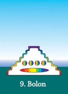Maya Cards - The number Nine