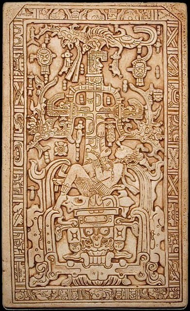 King Pacal sarcophagus