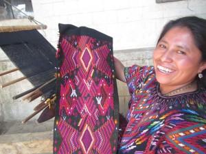 Weaver in Guatemala